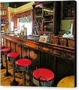 Old Soda Shoppe Canvas Print by Joyce Kimble Smith