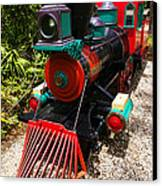 Old Time Train Canvas Print