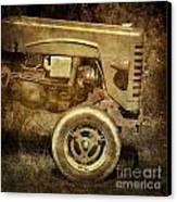 Old Tractor Canvas Print by Bernard Jaubert