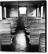 Old Train Compartment Canvas Print by Falko Follert