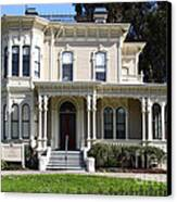 Old Victorian Camron-stanford House . Oakland California . 7d13440 Canvas Print by Wingsdomain Art and Photography