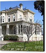 Old Victorian Camron-stanford House . Oakland California . 7d13445 Canvas Print