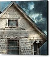 Old Victorian House Detail Canvas Print