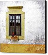 Old Window Canvas Print by Carlos Caetano