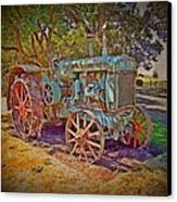 Oliver Tractor 2 Canvas Print