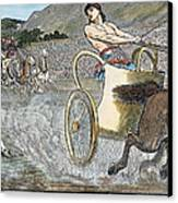 Olympic Games, Antiquity Canvas Print by Granger
