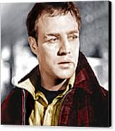 On The Waterfront, Marlon Brando, 1954 Canvas Print by Everett