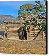Once Upon A Time In New Mexico Canvas Print by Kurt Gustafson
