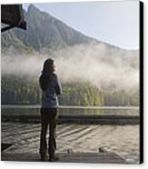 One Person, Woman, Mid Adult, 30-35 Canvas Print