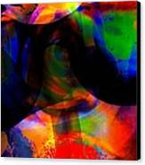 Only You Can See Me Canvas Print by Fania Simon