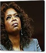Oprah Winfrey In Attendance For Barack Canvas Print by Everett