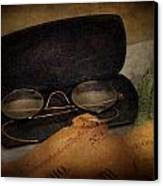 Optometrist - Glasses For Reading  Canvas Print by Mike Savad