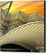 Oriente Station Canvas Print by Carlos Caetano