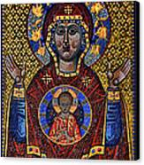 Orthodox Icon Of The Mosaic Canvas Print