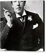 Oscar Wilde, Irish Author Canvas Print by Photo Researchers