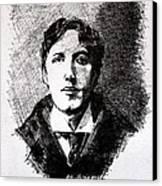 Oscar Wilde Canvas Print by John  Nolan