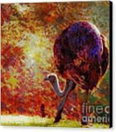 Ostrich II Canvas Print