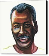 Oumar Souleymane Cisse Canvas Print by Emmanuel Baliyanga