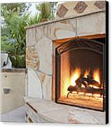 Outdoor Patio Living Space Residential Canvas Print
