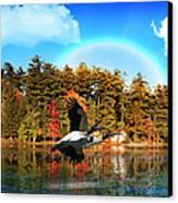 Over The Rainbow Canvas Print by Mark Ashkenazi