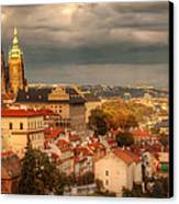 Overlook Prague Canvas Print