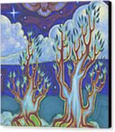 Owl Sky Canvas Print