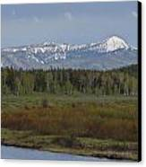 Oxbow Bend Canvas Print by Charles Warren
