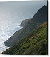 Pacific Coast Shoreline Iv Canvas Print by Steven Ainsworth
