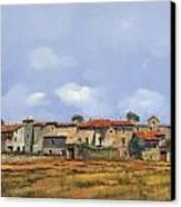 Paesaggio Aperto Canvas Print by Guido Borelli