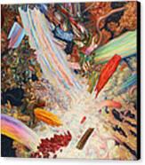 Paint Number 39 Canvas Print