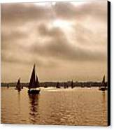 Palatka Canvas Print by Debbie Sikes