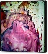 Palette Mixes Canvas Print