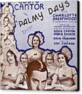Palmy Days Canvas Print by Mel Thompson