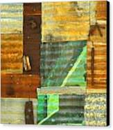 Panel With Peas Canvas Print by Joe Jake Pratt