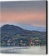 Panorama Lake Maggiore Canvas Print