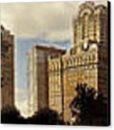 Panorama Of Manhattan Downtown  Canvas Print