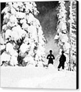 Paradise Inn, Mt. Ranier, 1917 Canvas Print by Science Source