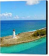 Paradise Island Canvas Print by Kathy Jennings