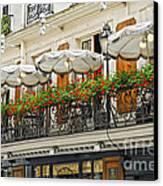 Paris Cafe Canvas Print by Elena Elisseeva