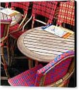 Paris Cafe Canvas Print by Tony Grider