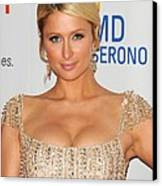 Paris Hilton At Arrivals For The 18th Canvas Print by Everett