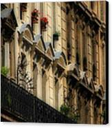 Paris Windows Canvas Print by Andrew Fare