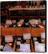 Paris Wine Shop Canvas Print