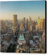 Park Avenue Canvas Print by Patrick Davidson-Locke