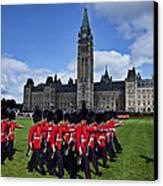 Parliament Building Ottawa Canada  Canvas Print by Garry Gay