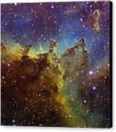 Part Of The Ic1805 Heart Nebula Canvas Print