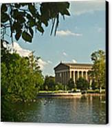 Parthenon At Nashville Tennessee 10 Canvas Print by Douglas Barnett