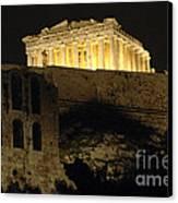 Parthenon Athens Canvas Print