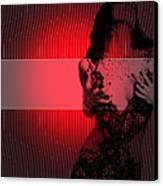 Passion Canvas Print by Naxart Studio