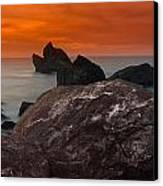 Patrick's Point Dusk Panorama Canvas Print by Greg Nyquist